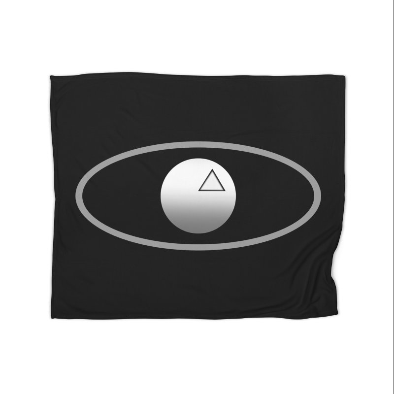 Universal Aspects™ Logo - Dark Home Blanket by Aspect Black™