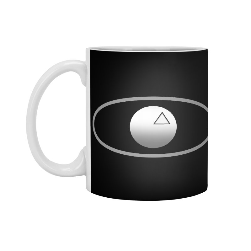 Universal Aspects™ Logo - Dark Accessories Mug by Aspect Black™