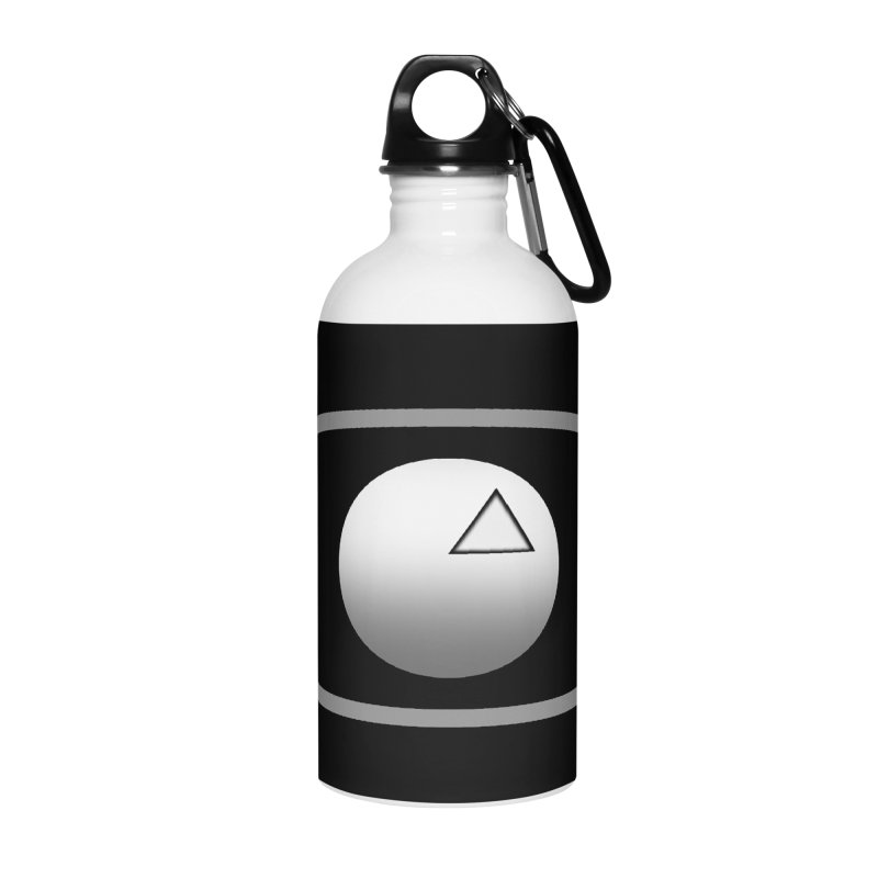 Universal Aspects™ Logo - Dark Accessories Water Bottle by Aspect Black™