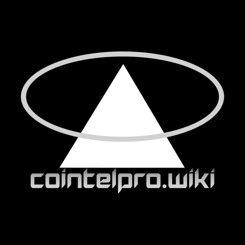 cointelpro.wiki Logo Apparel - Dark Men's Triblend T-Shirt by Aspect Black™