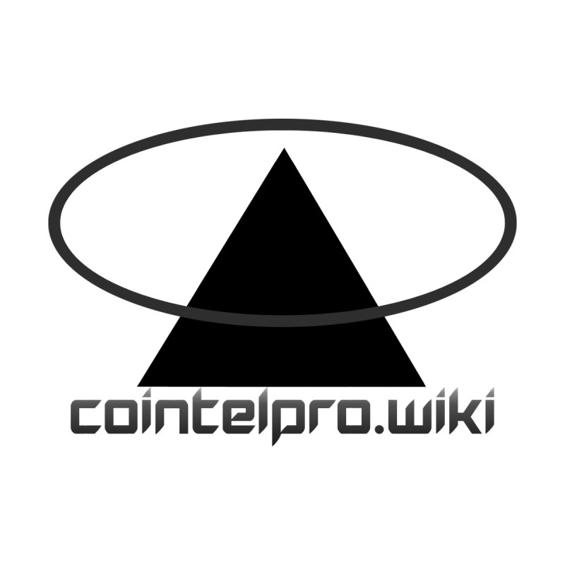cointelpro.wiki Logo Apparel - Light None  by Aspect Black™