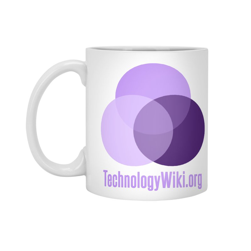 TechnologyWiki.org Logo Gear Accessories Mug by Aspect Black™