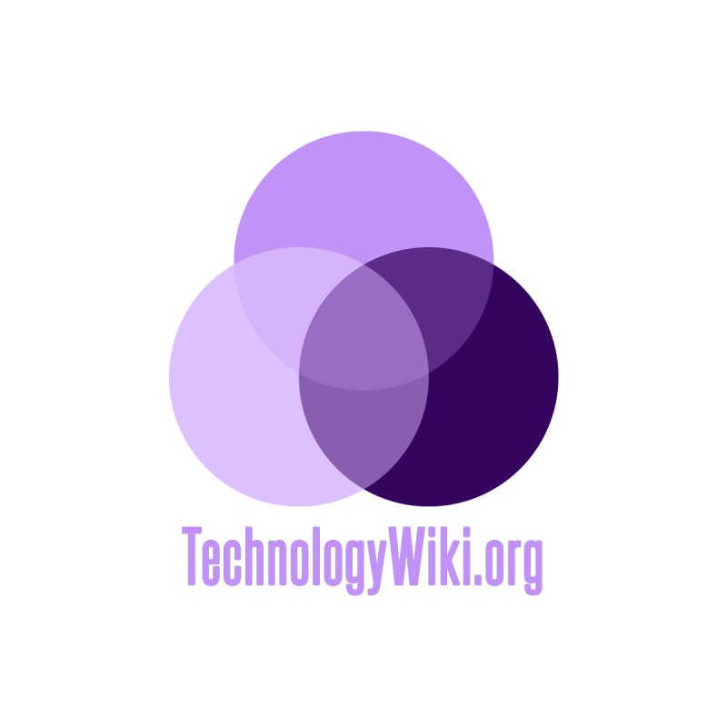 TechnologyWiki.org Logo Gear Women's Triblend T-Shirt by Aspect Black™
