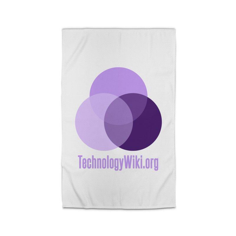 TechnologyWiki.org Logo Gear Home Rug by Aspect Black™