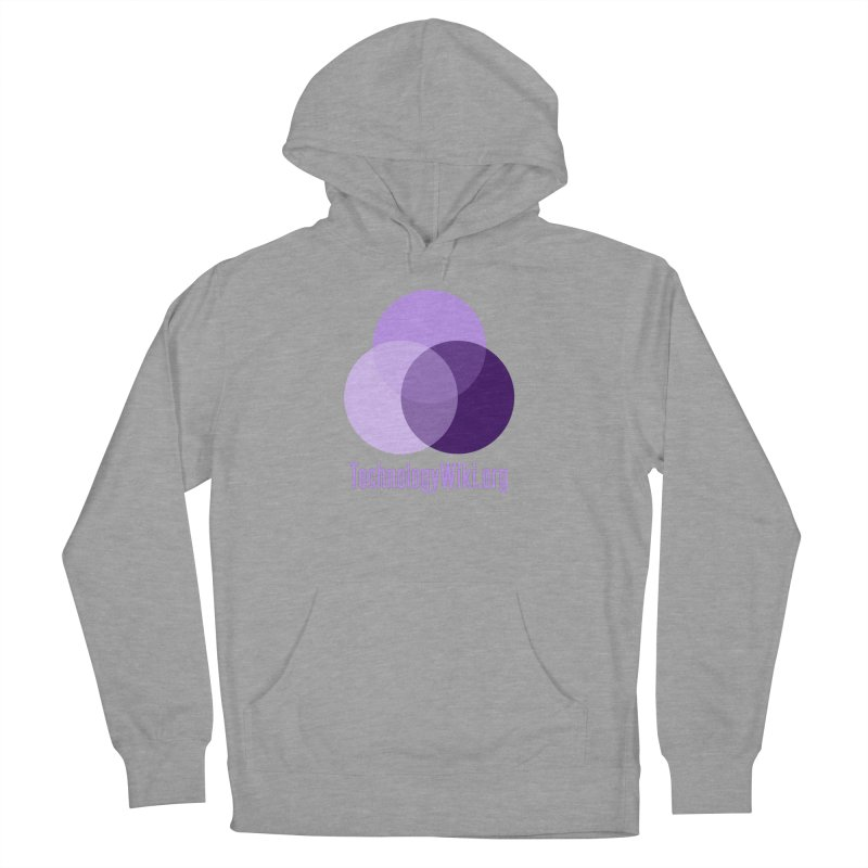 TechnologyWiki.org Logo Gear Women's Pullover Hoody by Aspect Black™