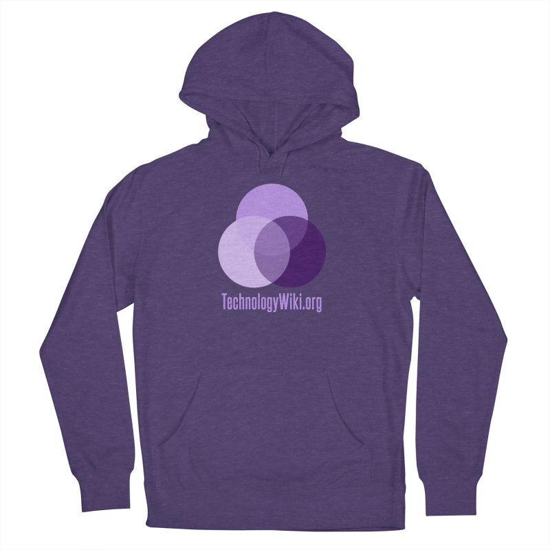 TechnologyWiki.org Logo Gear Men's Pullover Hoody by Aspect Black™