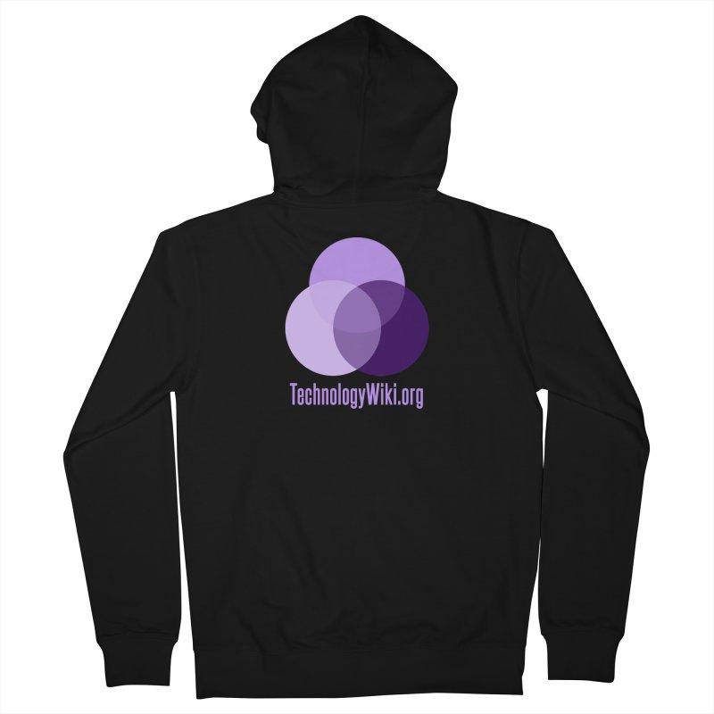 TechnologyWiki.org Logo Gear Women's Zip-Up Hoody by Aspect Black™