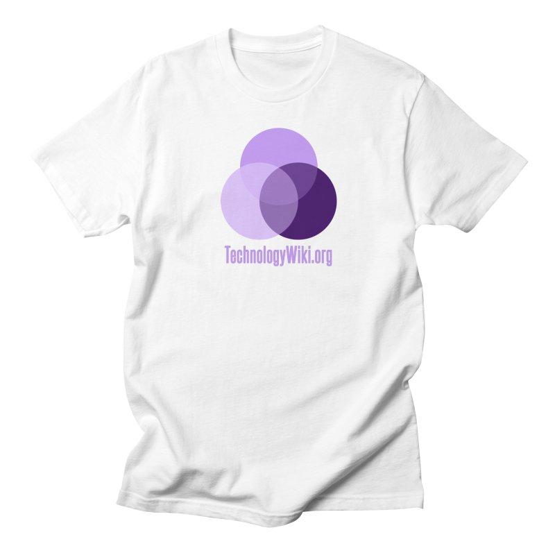 TechnologyWiki.org Logo Gear Men's T-Shirt by Aspect Black™