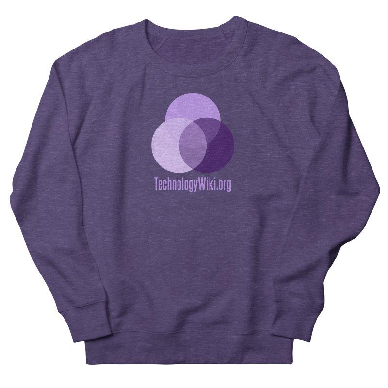 TechnologyWiki.org Logo Gear Women's Sweatshirt by Aspect Black™