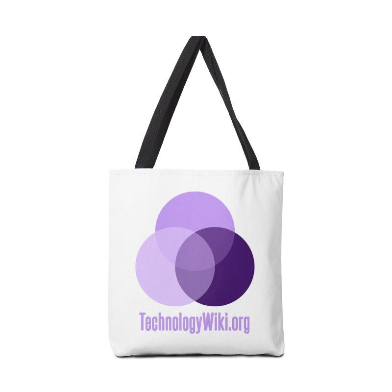 TechnologyWiki.org Logo Gear Accessories Bag by Aspect Black™