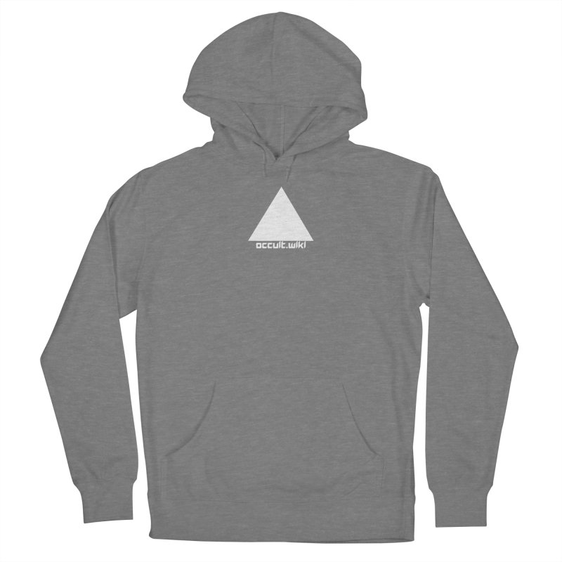 occult.wiki Logo Apparel - Dark Men's French Terry Pullover Hoody by Aspect Black™