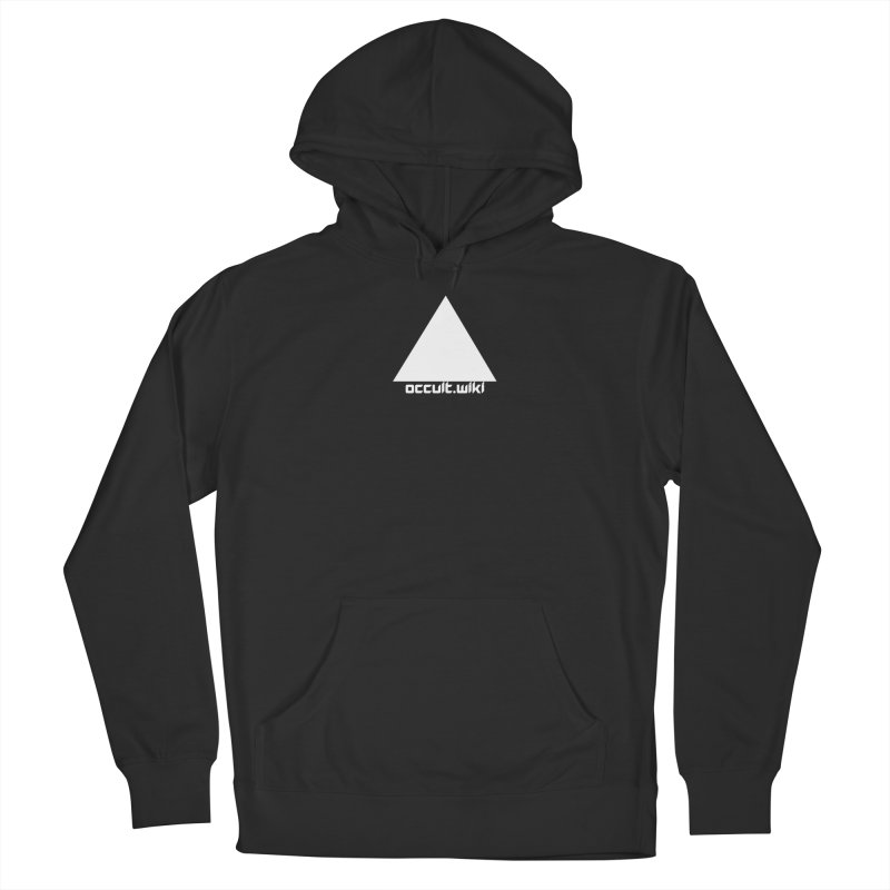 occult.wiki Logo Apparel - Dark Women's French Terry Pullover Hoody by Aspect Black™