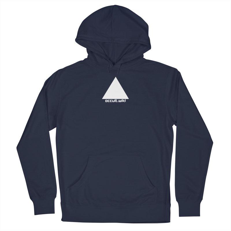occult.wiki Logo Apparel - Dark Men's Pullover Hoody by Aspect Black™