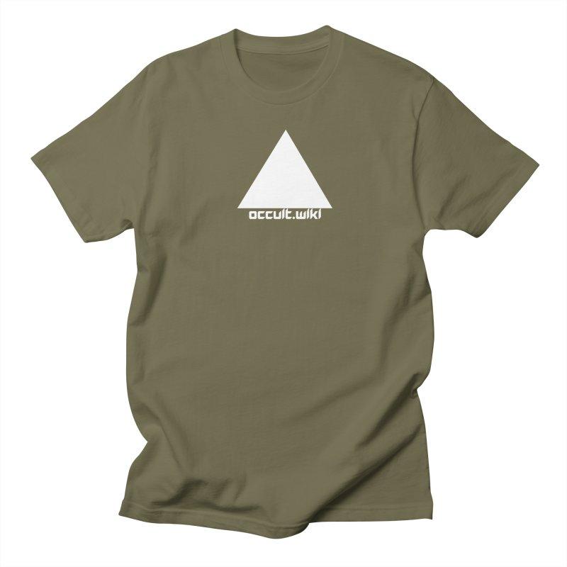 occult.wiki Logo Apparel - Dark Men's T-Shirt by Aspect Black™