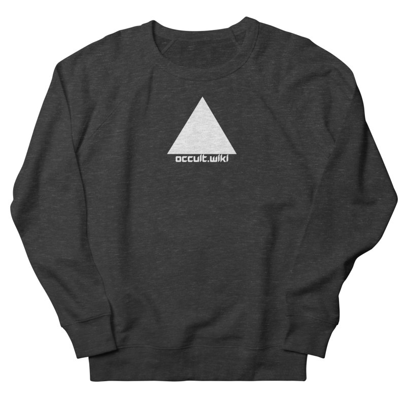 occult.wiki Logo Apparel - Dark Women's French Terry Sweatshirt by Aspect Black™
