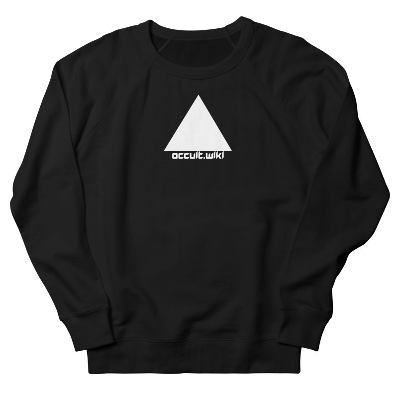 occult.wiki Logo Apparel - Dark Women's French Terry Sweatshirt by Aspect Black™