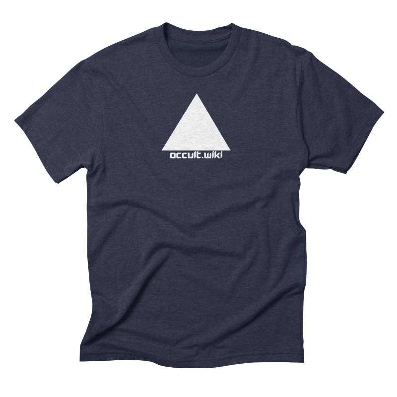occult.wiki Logo Apparel - Dark Men's Triblend T-Shirt by Aspect Black™