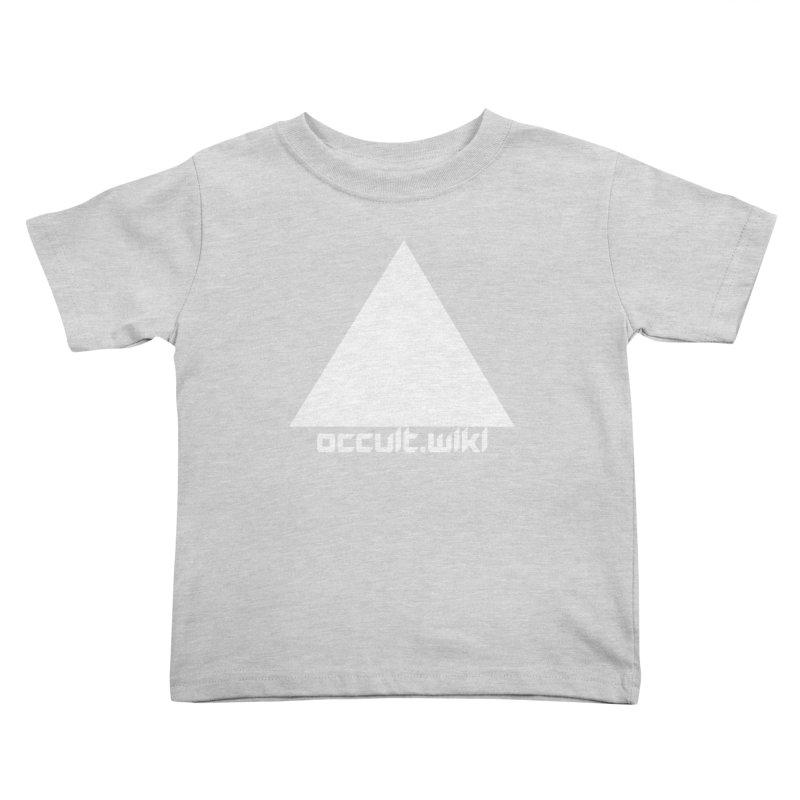 occult.wiki Logo Apparel - Dark Kids Toddler T-Shirt by Aspect Black™