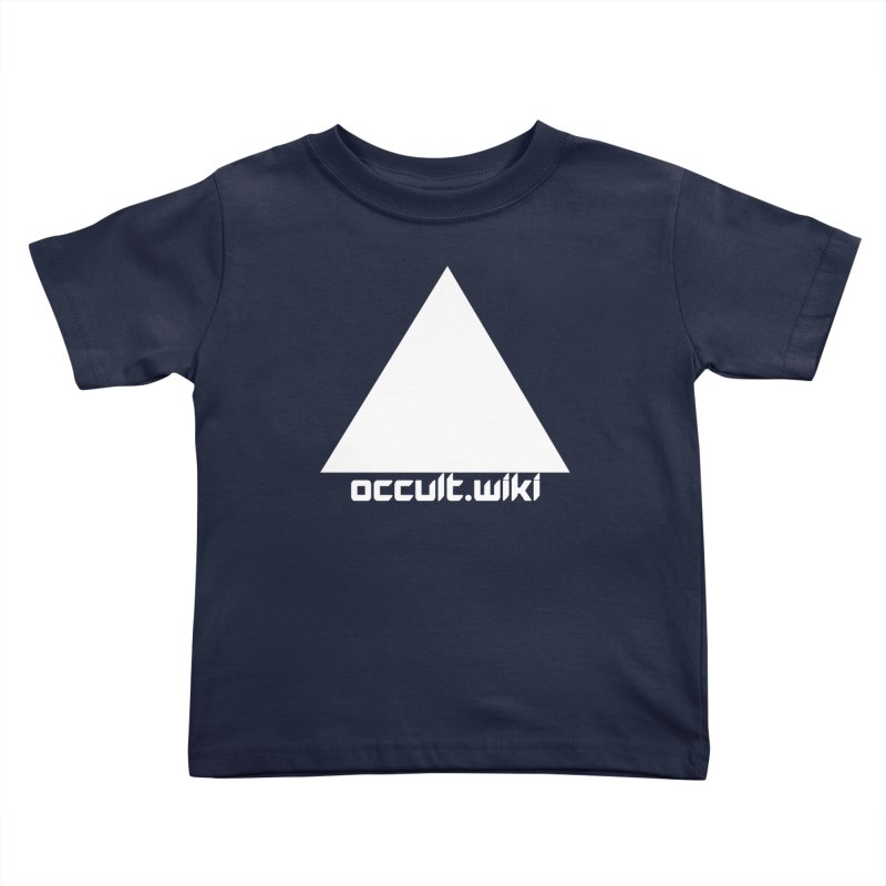 occult.wiki Logo Apparel - Dark Kids Toddler T-Shirt by Aspect Black™