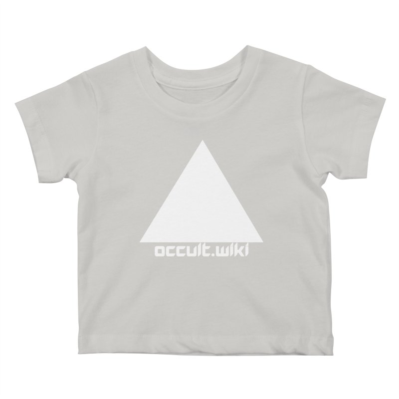 occult.wiki Logo Apparel - Dark Kids Baby T-Shirt by Aspect Black™
