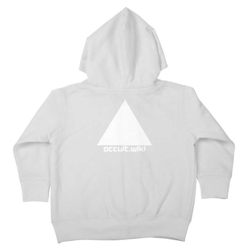 occult.wiki Logo Apparel - Dark Kids Toddler Zip-Up Hoody by Aspect Black™
