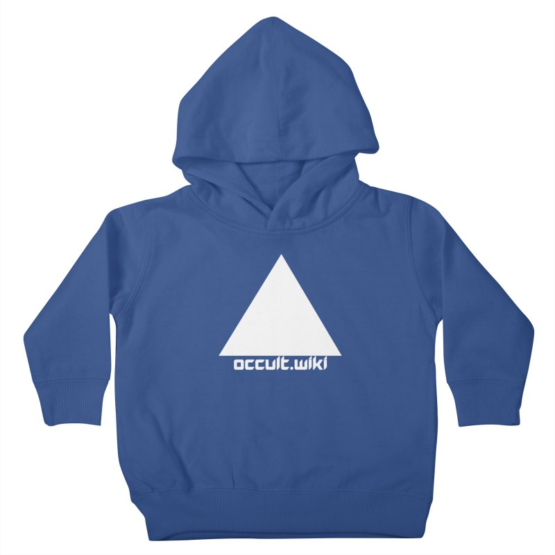 occult.wiki Logo Apparel - Dark Kids Toddler Pullover Hoody by Aspect Black™