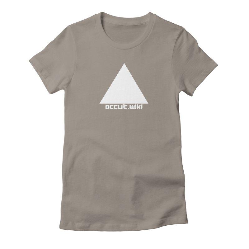 occult.wiki Logo Apparel - Dark Women's T-Shirt by Aspect Black™