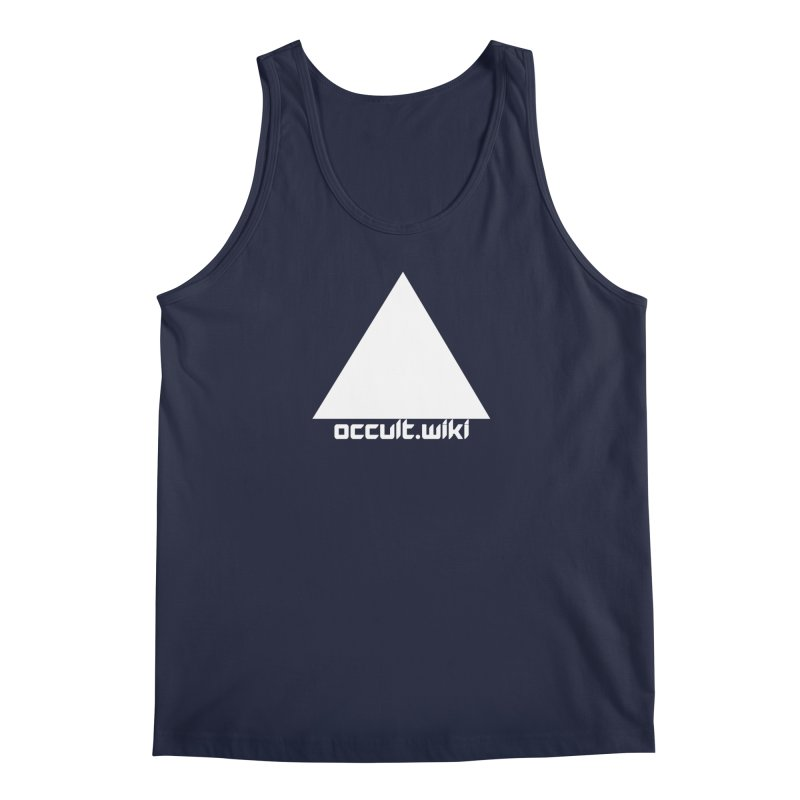 occult.wiki Logo Apparel - Dark Men's Regular Tank by Aspect Black™