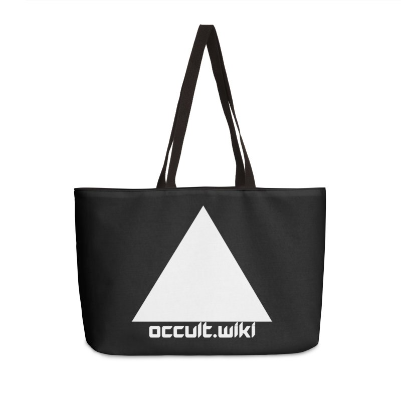 occult.wiki Logo Apparel - Dark Accessories Weekender Bag Bag by Aspect Black™