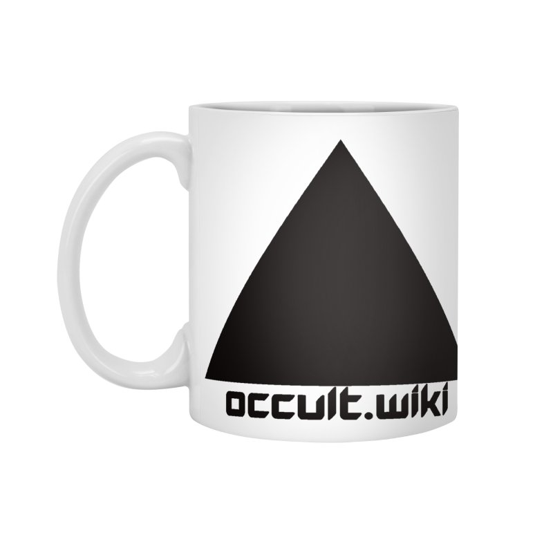occult.wiki Logo Apparel - Light Accessories Mug by Aspect Black™