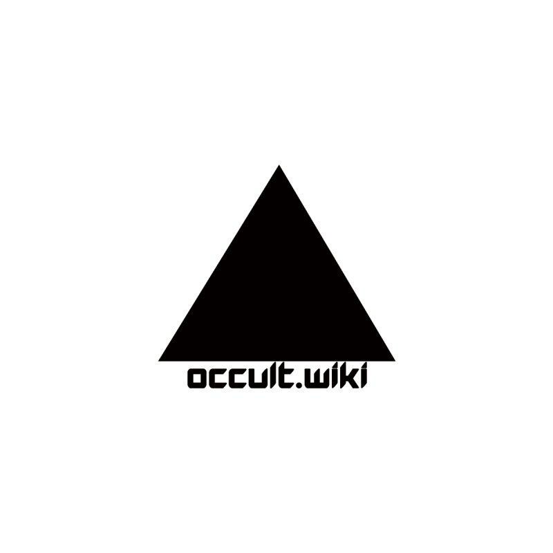 occult.wiki Logo Apparel - Light   by Aspect Black™