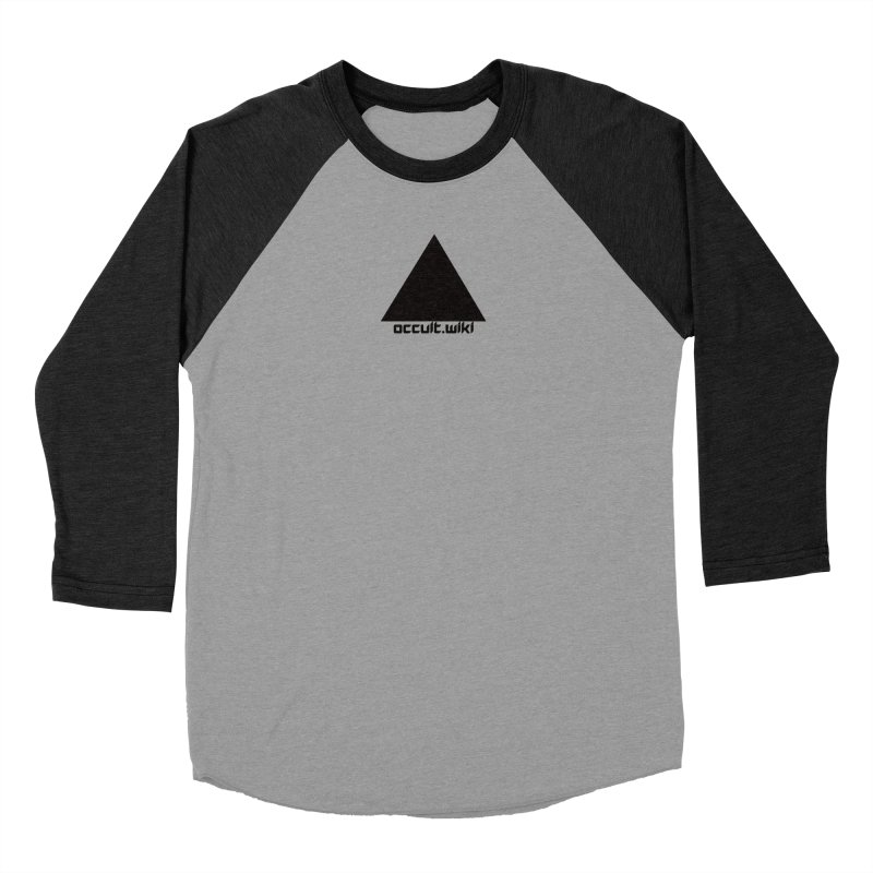 occult.wiki Logo Apparel - Light Men's Longsleeve T-Shirt by Aspect Black™