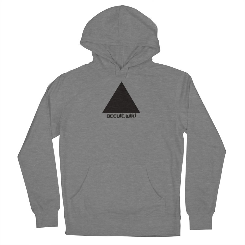 occult.wiki Logo Apparel - Light Women's French Terry Pullover Hoody by Aspect Black™