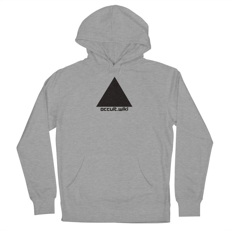occult.wiki Logo Apparel - Light Men's Pullover Hoody by Aspect Black™
