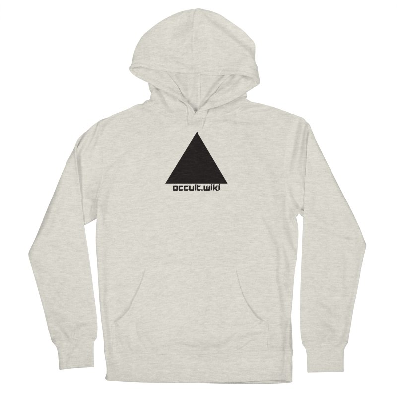 occult.wiki Logo Apparel - Light Men's French Terry Pullover Hoody by Aspect Black™