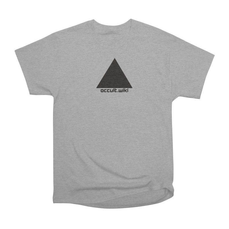 occult.wiki Logo Apparel - Light Men's Heavyweight T-Shirt by Aspect Black™
