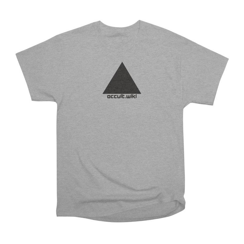 occult.wiki Logo Apparel - Light Women's Heavyweight Unisex T-Shirt by Aspect Black™