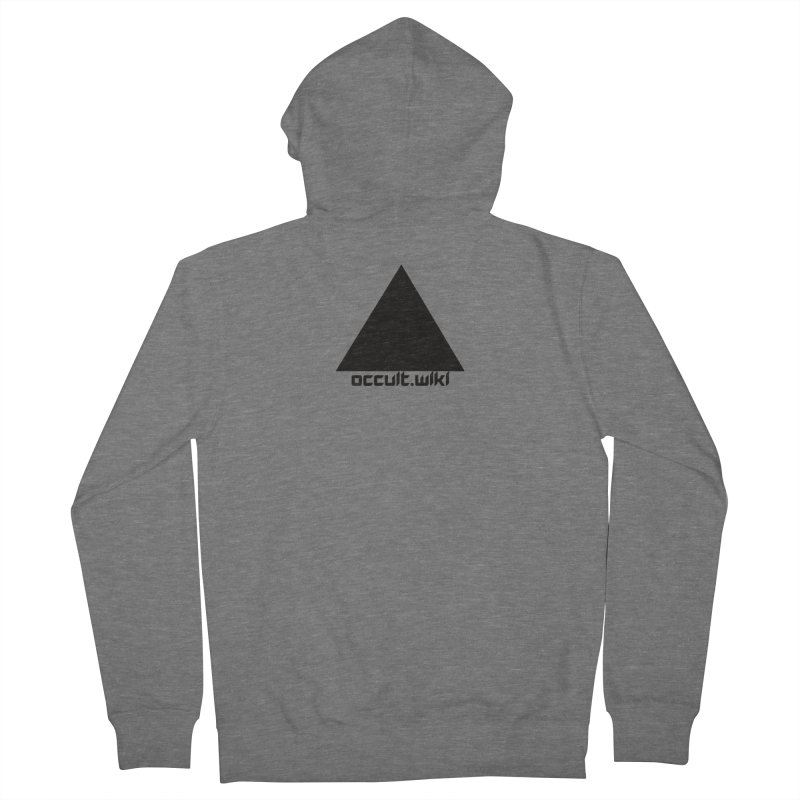occult.wiki Logo Apparel - Light Women's Zip-Up Hoody by Aspect Black™
