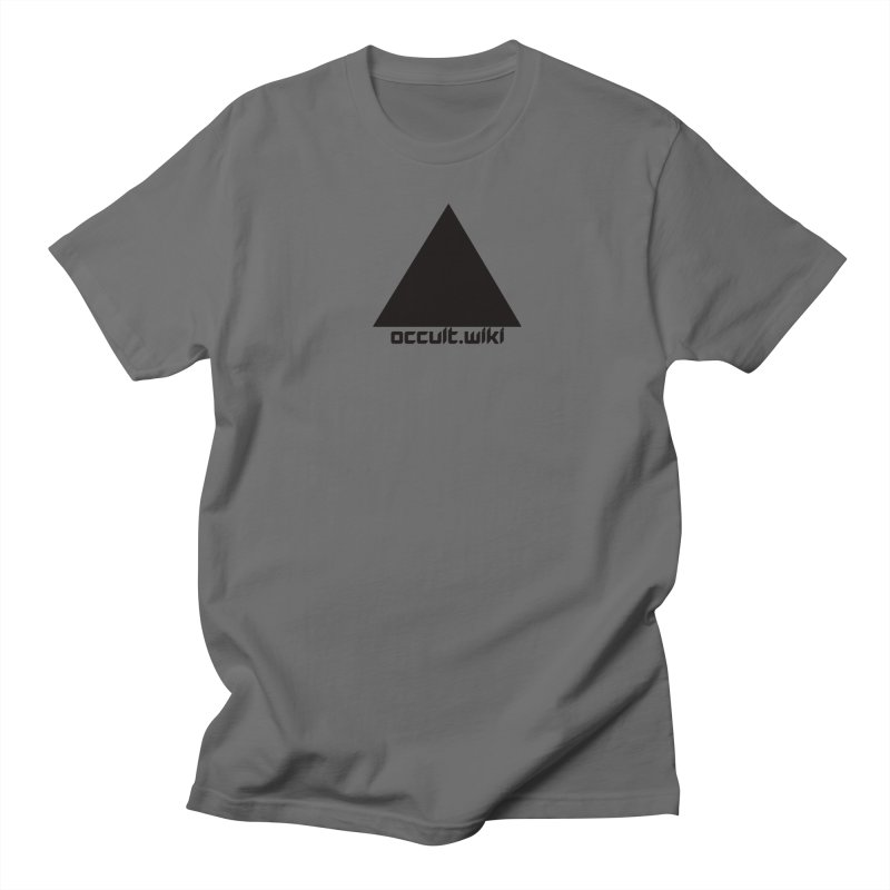 occult.wiki Logo Apparel - Light Men's Regular T-Shirt by Aspect Black™