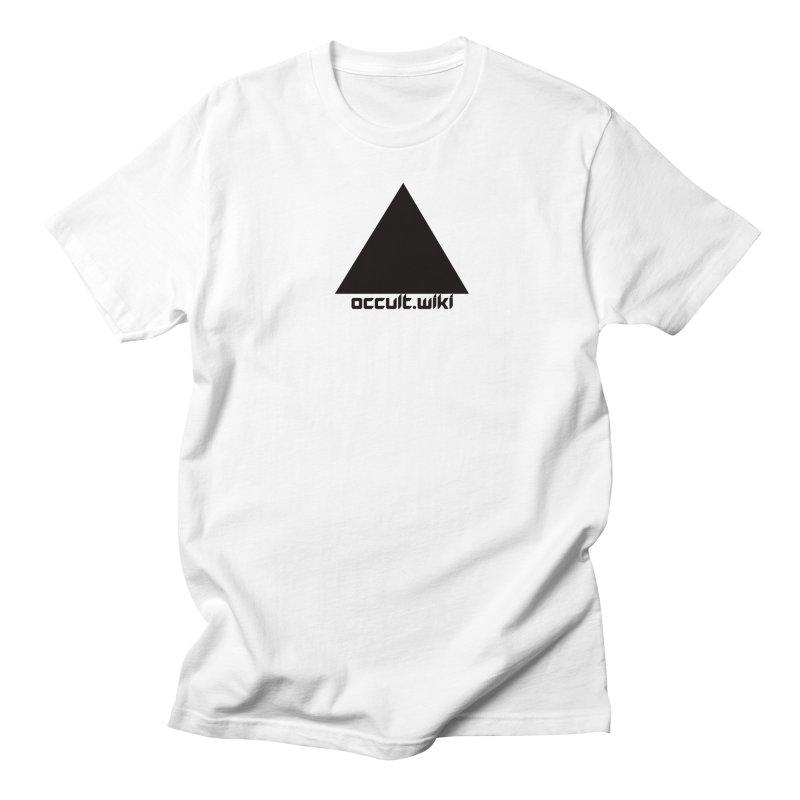 occult.wiki Logo Apparel - Light Women's Regular Unisex T-Shirt by Aspect Black™