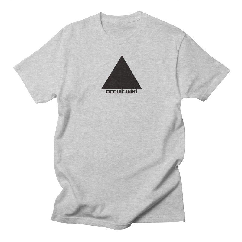 occult.wiki Logo Apparel - Light Men's T-Shirt by Aspect Black™
