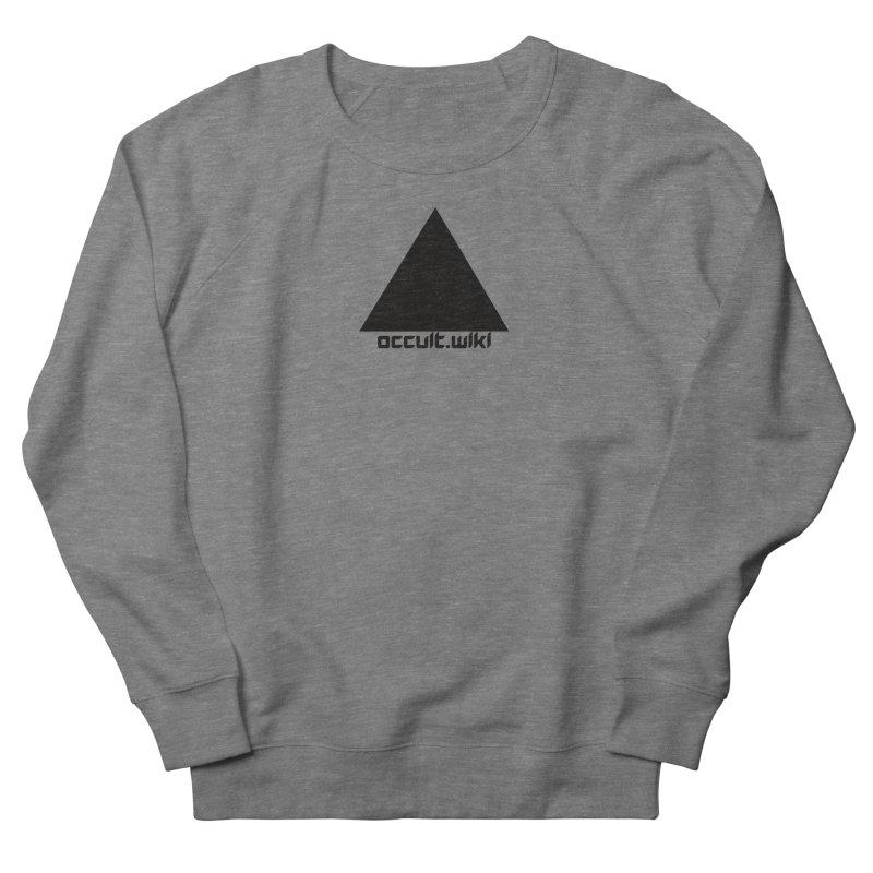 occult.wiki Logo Apparel - Light Women's Sweatshirt by Aspect Black™