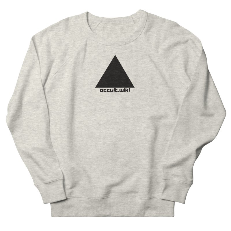 occult.wiki Logo Apparel - Light Men's Sweatshirt by Aspect Black™
