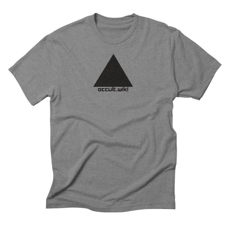 occult.wiki Logo Apparel - Light Men's Triblend T-Shirt by Aspect Black™