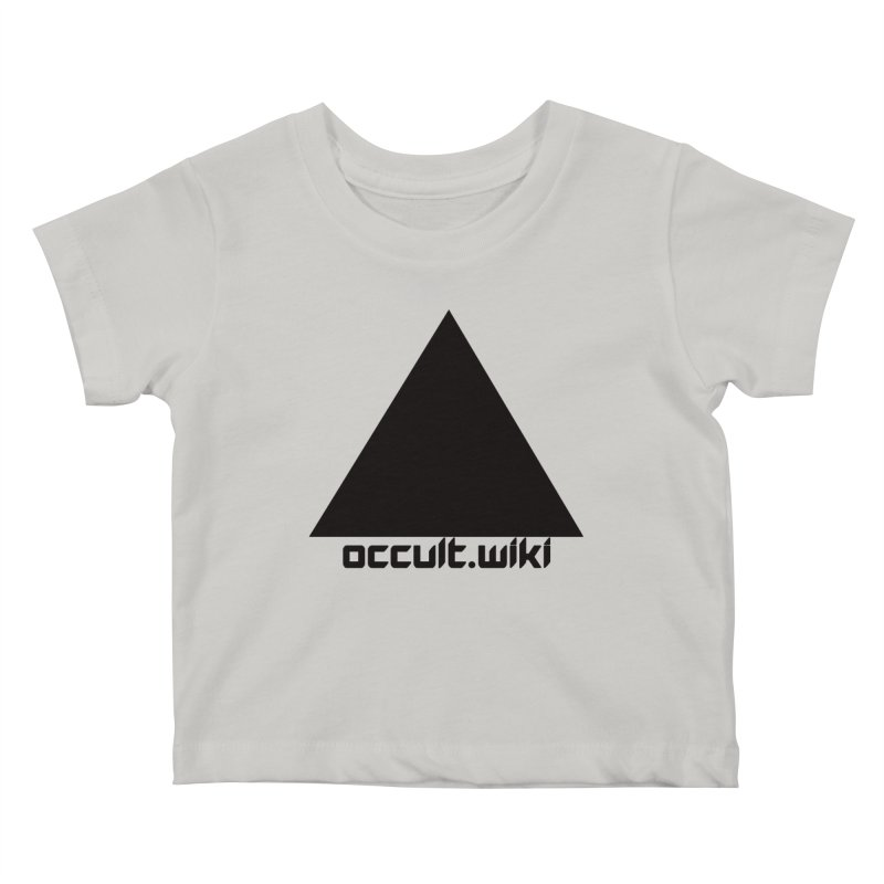occult.wiki Logo Apparel - Light Kids Baby T-Shirt by Aspect Black™
