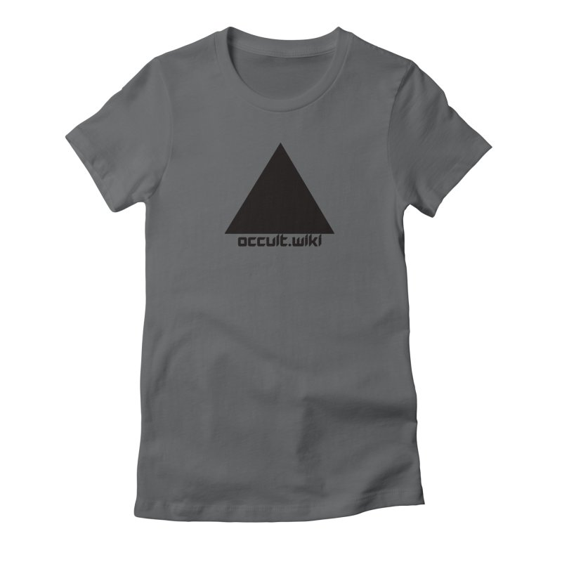 occult.wiki Logo Apparel - Light Women's T-Shirt by Aspect Black™