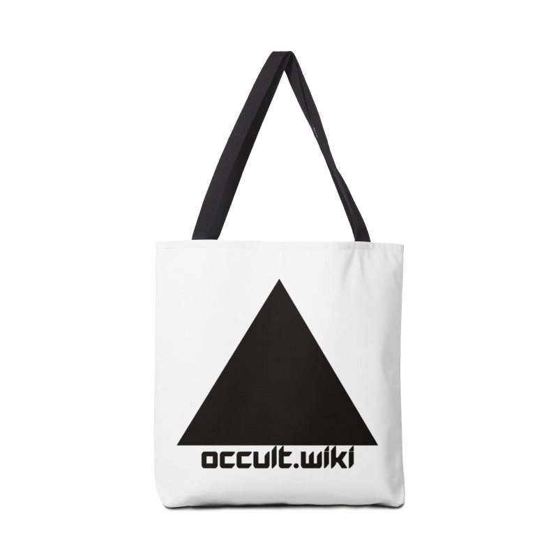 occult.wiki Logo Apparel - Light Accessories Bag by Aspect Black™