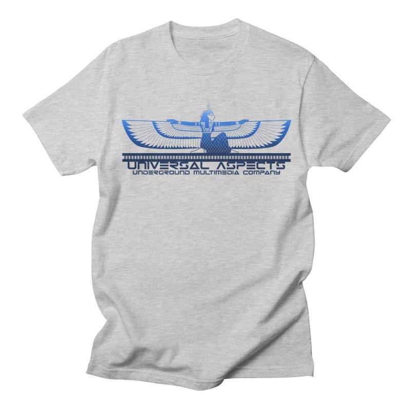 Universal Aspects™ Maat Goddess Accessories Men's T-Shirt by Aspect Black™