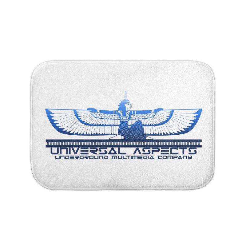 Universal Aspects™ Maat Goddess Accessories Home Bath Mat by Aspect Black™