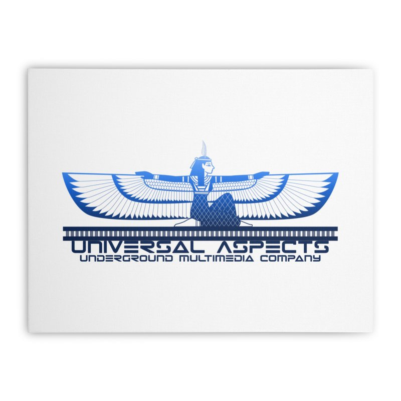 Universal Aspects™ Maat Goddess Accessories Home Stretched Canvas by Aspect Black™